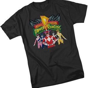 Mighty Morphins Power Rangers Shirt❤️